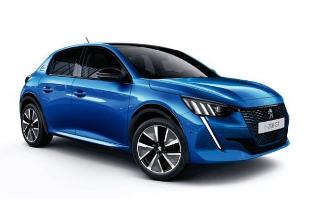 Peugeot e-208 (pictured) has beencrowned European Car of the Year