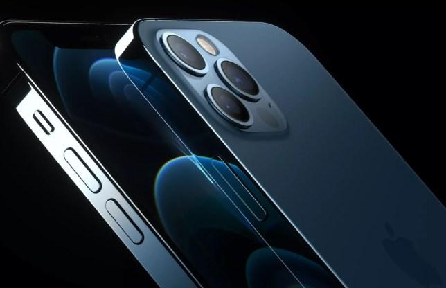 The iPhone 12 Pro models feature a LIDAR sensor built into the camera (Apple)