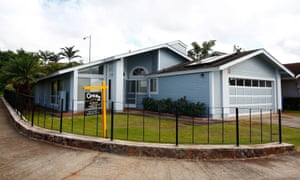 Edward Snowden's home in Hawaii, from where he was able to download thousands of classified British documents.