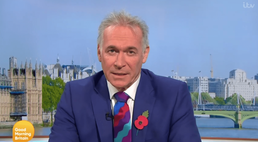 Dr Hilary Jones has supported plans to slash the 14-day quarantine period