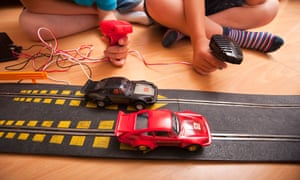 Hornby Scalextric racing car set