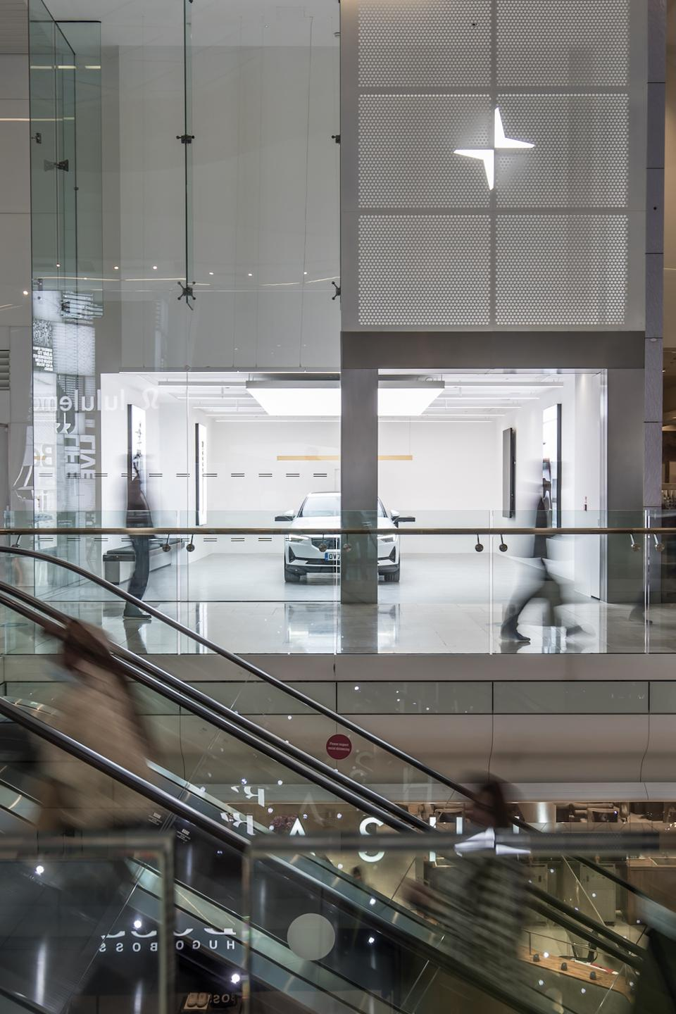 """Polestar Space"" in Westfield London is a non-sales sales space"