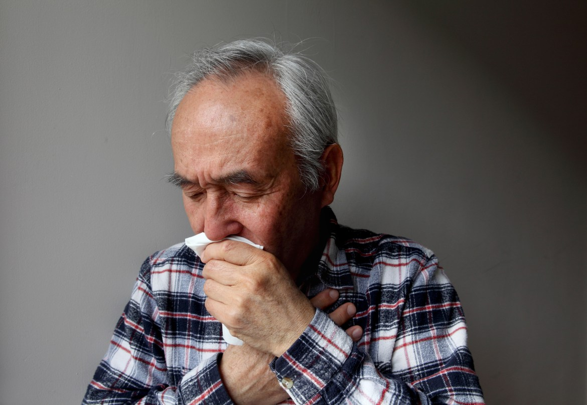 The most common symptoms of lung cancer are strikingly similar to Covid-19, including a persistent cough