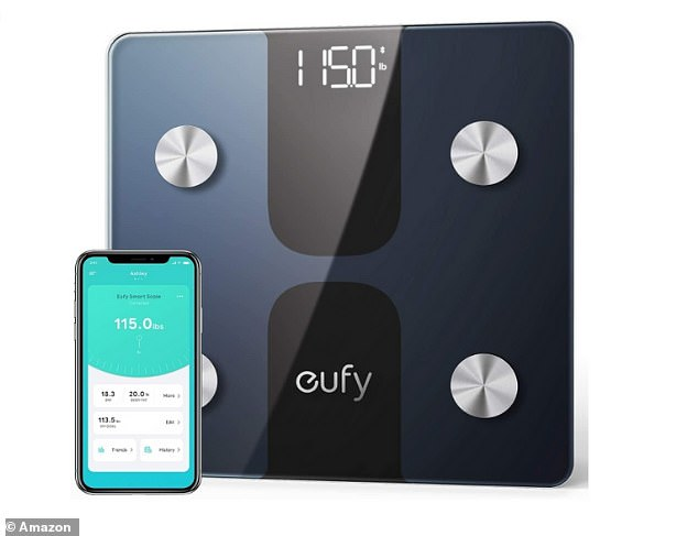 You can get12 insightful measurements of your body's health with the eufy Smart Scale, such as weight, body Fat, BMI, bone mass and muscle mass - all for £23.99