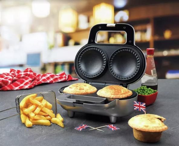 The Progress Taste The World double deep pie maker is just £24.99 at Argos