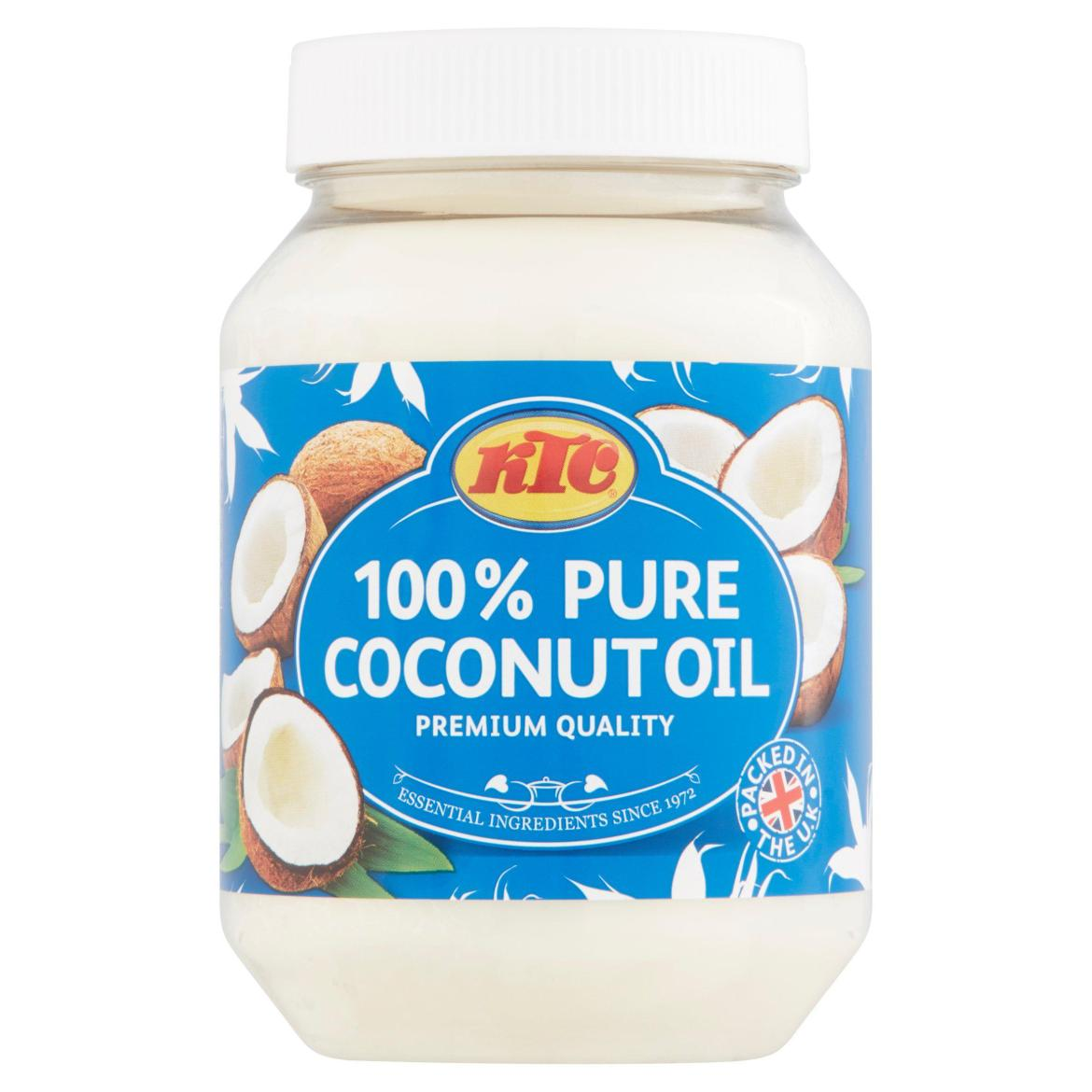 Pick up a 500ml tub of KTC coconut oil for just £2.45 at Sainsbury's