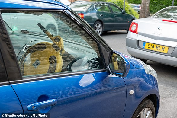 Halfords has reported a big jump in steering lock sales since keyless car crime has become more prevalent in the UK