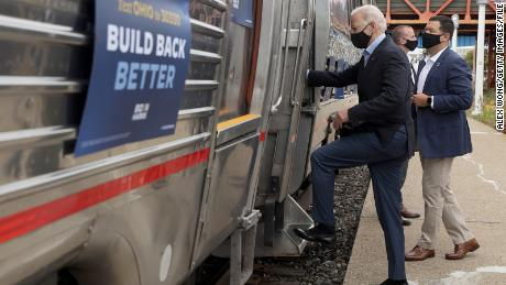 Biden to take train to Washington for inauguration, moving forward to 'not be deterred' by violence or virus