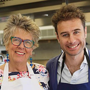 Prue Leith and Pasta Evangelists founder Alessandro Savelli