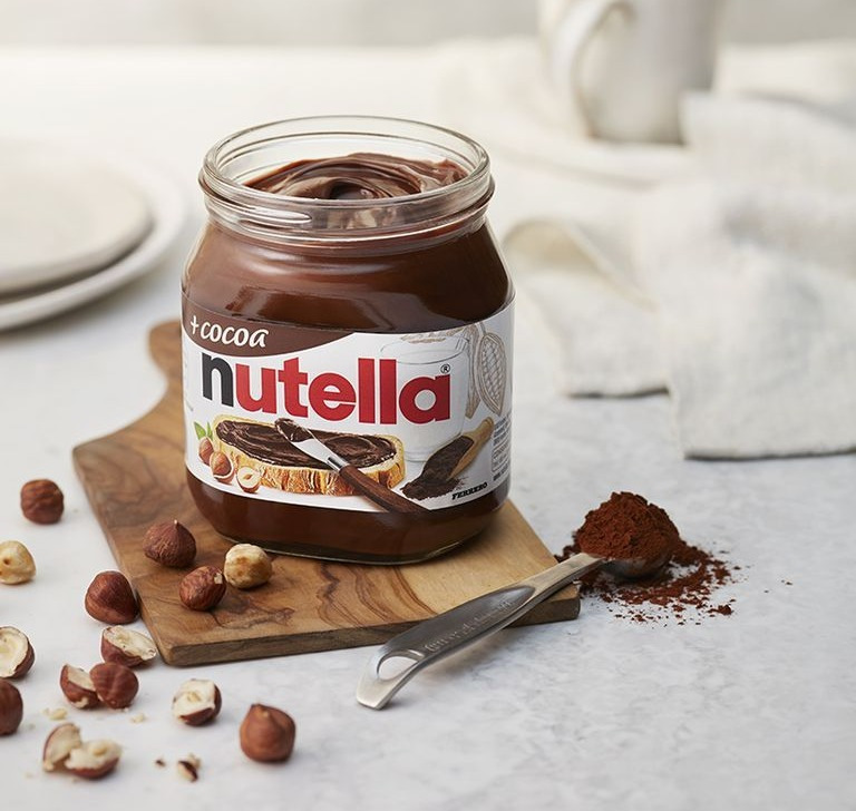 Jars of Nutella will soon be shrinking to 350g but the price will not be suffering from shrinkflation