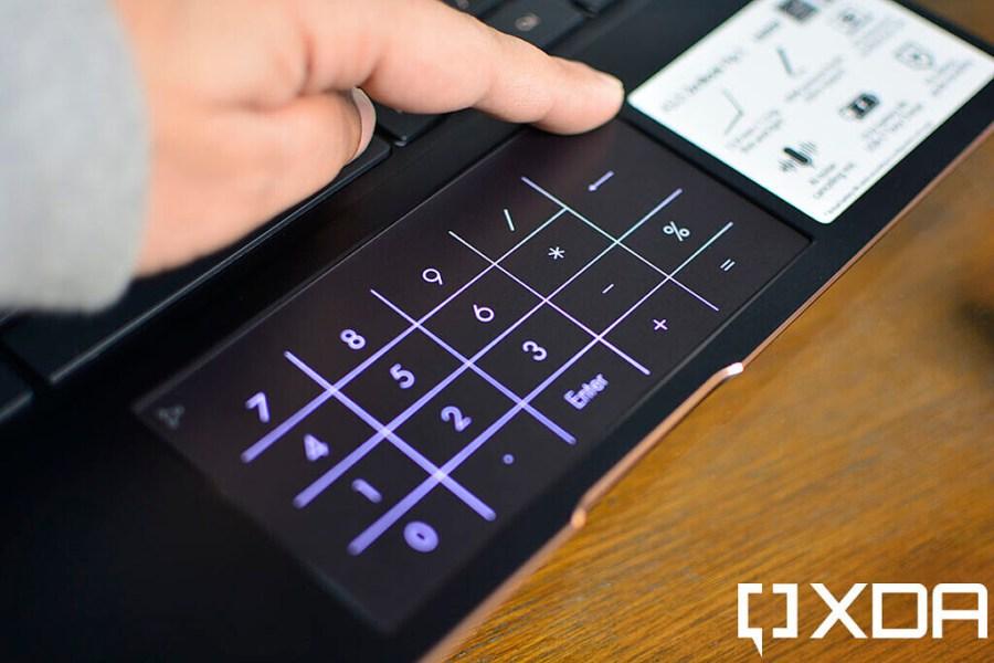 ASUS ZenBook Flip S touchpad