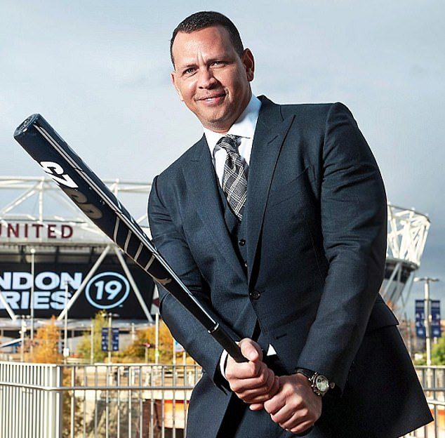 Big hitter:Slam Corp, a SPAC formed by former baseball player A-Rod (pictured), has $500m (£354million) to target sports, media and entertainment businesses