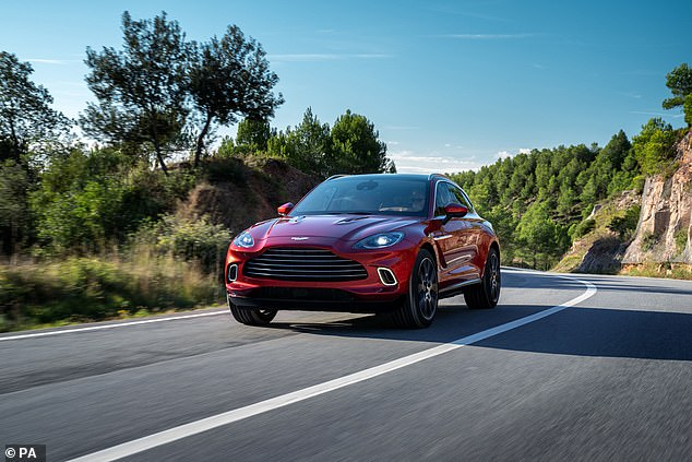 Stroll hopes Aston Martin's DBX model, the firm's first-ever SUV, will help revive its fortunes