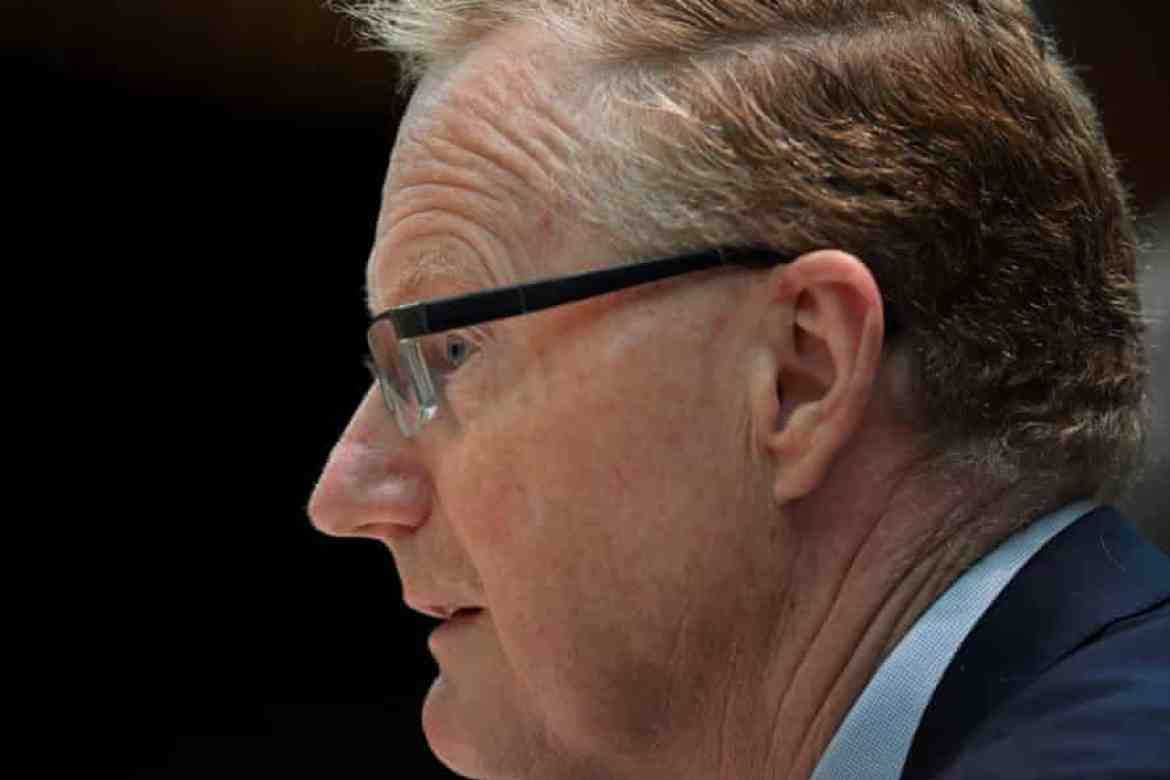 Reserve Bank of Australia Governor Dr Philip Lowe durning The House of Representatives Standing Committee on Economics at Parliament House in Canberra, Wednesday, December 2, 2020.