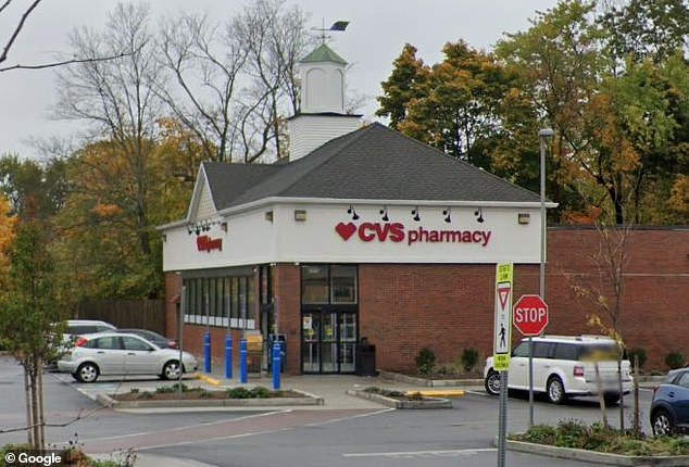 A CVS in Ipswich, Massachusetts (pictured), gave a 'limited number of patients' the wrong dose of the Moderna coronavirus vaccine on Monday