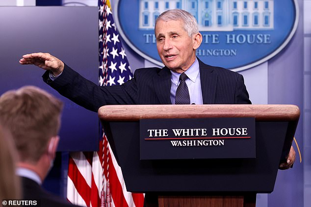 Dr Anthony Fauci predicted that any US adult who wants one will be able to get a COVID-19 vaccine by April, and that the majority of Americans will be vaccinated by fall