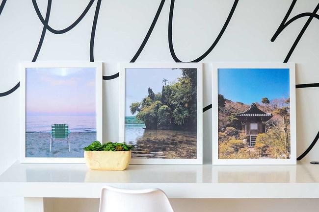 Custom frames by Frame It Easy.