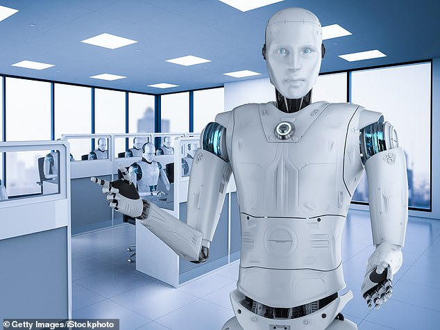 Robo helpers: The use of chatbots has become far more widespread as companies struggle to keep up with a surge in enquiries from customers during the pandemic