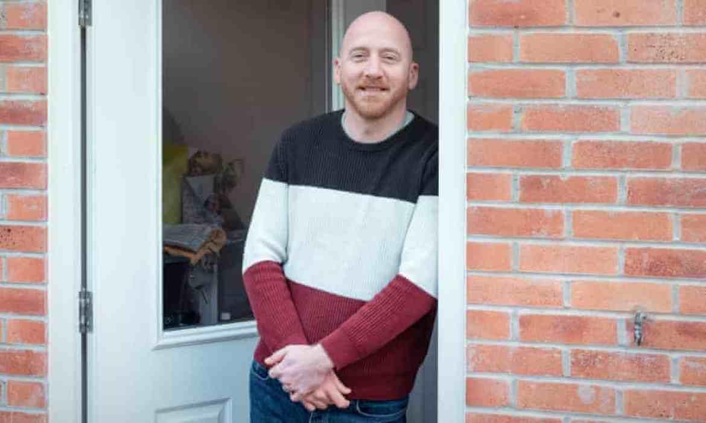 Arron Mitchell in a doorway