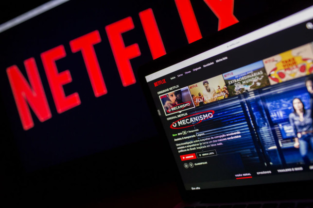 Netflix is putting in place the first major test to stop people sharing their password with others (Credits: Bloomberg via Getty Images)