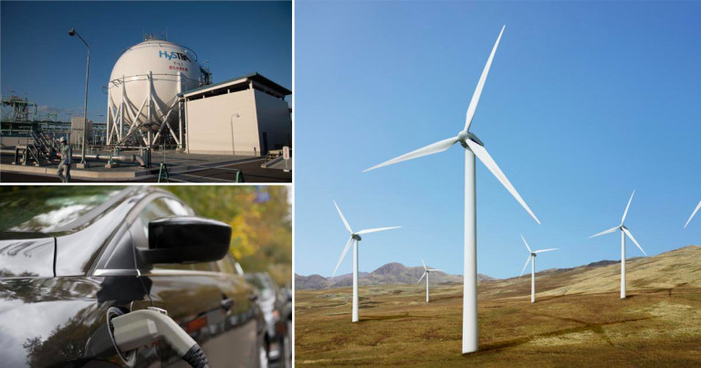 The UK's energy future will be a combination of renewable sources, storage solutions and green technologies (Photo: Getty)