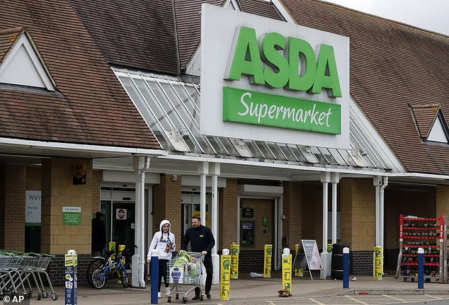Load up: A trolley full of 85 goods came in at £160.42 at Asda, Which? told This is Money