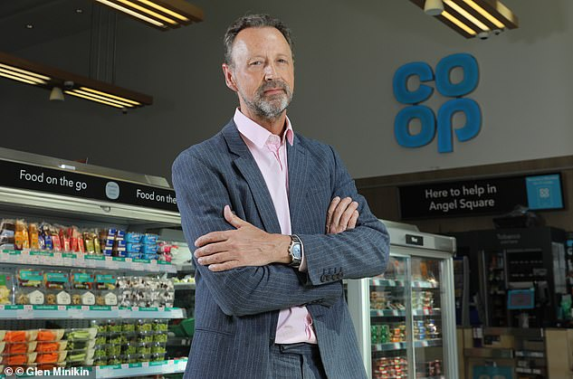 Co-op chief executive Steve Murrells (pictured) said he believed the move to hold onto £66 million it secured in business rates relief was still 'in line with our ethics'