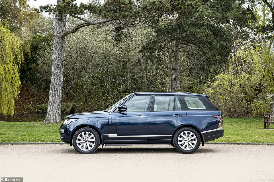 In its eight years, the Range Rover has clocked up just 38,420 miles. The current vendor bought the vehicle in July last year and is looking to offer it to the highest bidder, knowing the Royal connection could spark a bidding frenzy