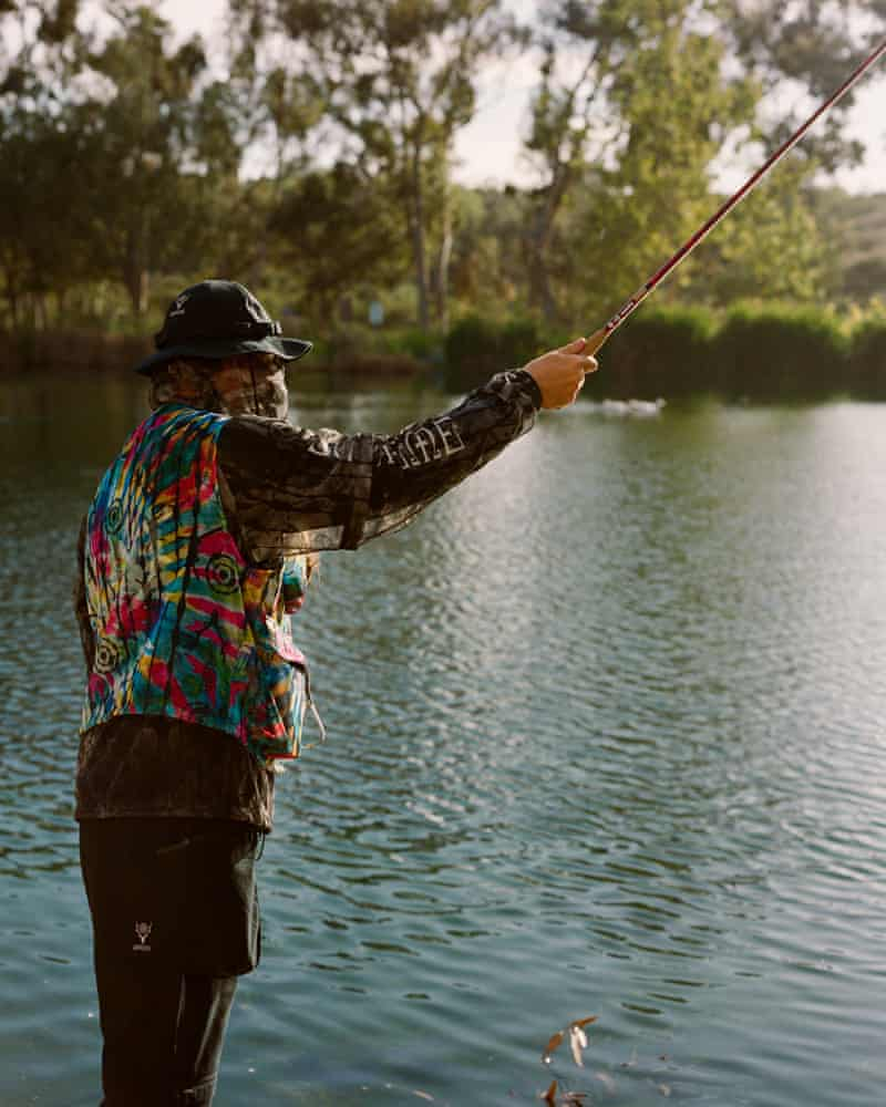 Supreme's new range of fishing clothes.