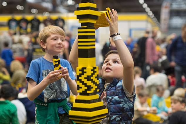 Touring soon: Live Company arranges the popular Lego's Bricklive events for kids
