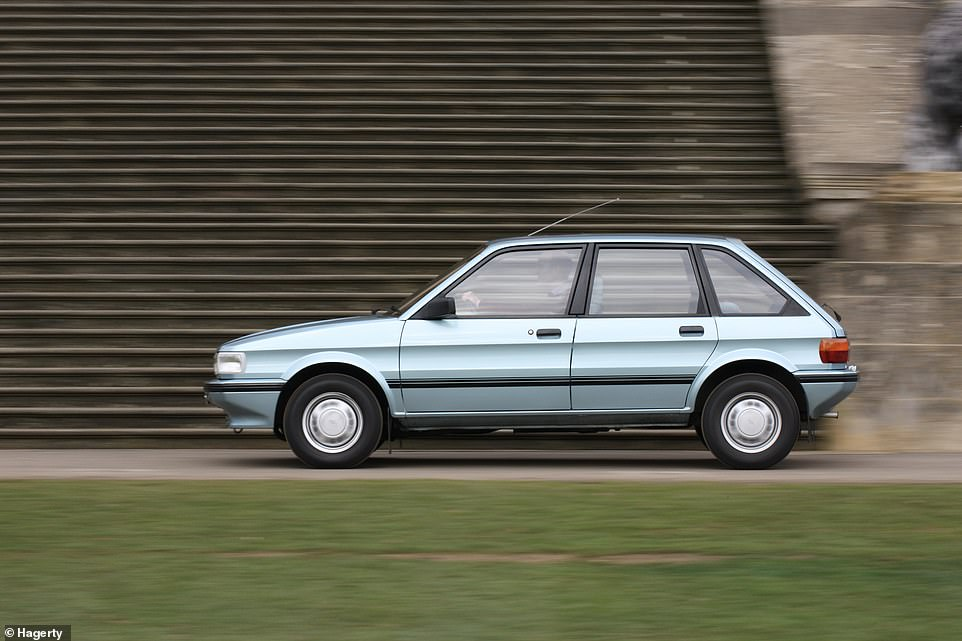 Among the list of the rapidly depleted cars that are now on the brink of extinction is the Austin Maestro pictured here