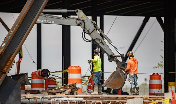 New York: A new mega Amazon warehouse underway in New York where the company continues to expand