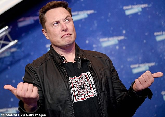 Backing out: Tesla boss Elon Musk said his electric car maker would no longer accept bitcoin as payment due to concerns about its 'insane' environmental impact