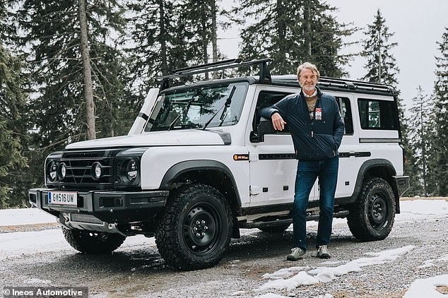 Ratcliffe's 4X4 delayed: Production of the Ineos Automotive Grenadier, the new utilitarian vehicle from the British billionaire's new car brand, has been pushed back to 2022