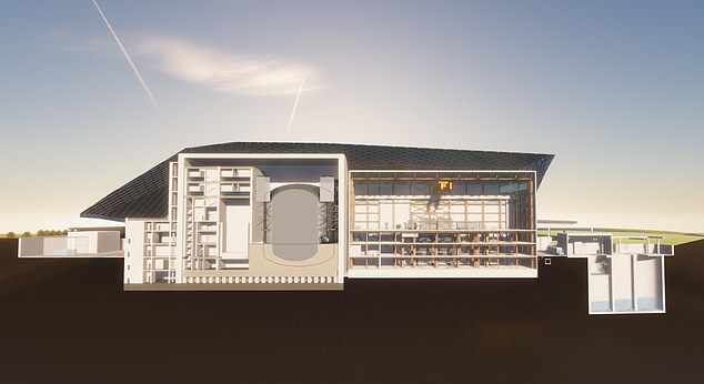 Redesign:The factory-built reactors will now generate 470 megawatts, enough to provide electricity to a million homes