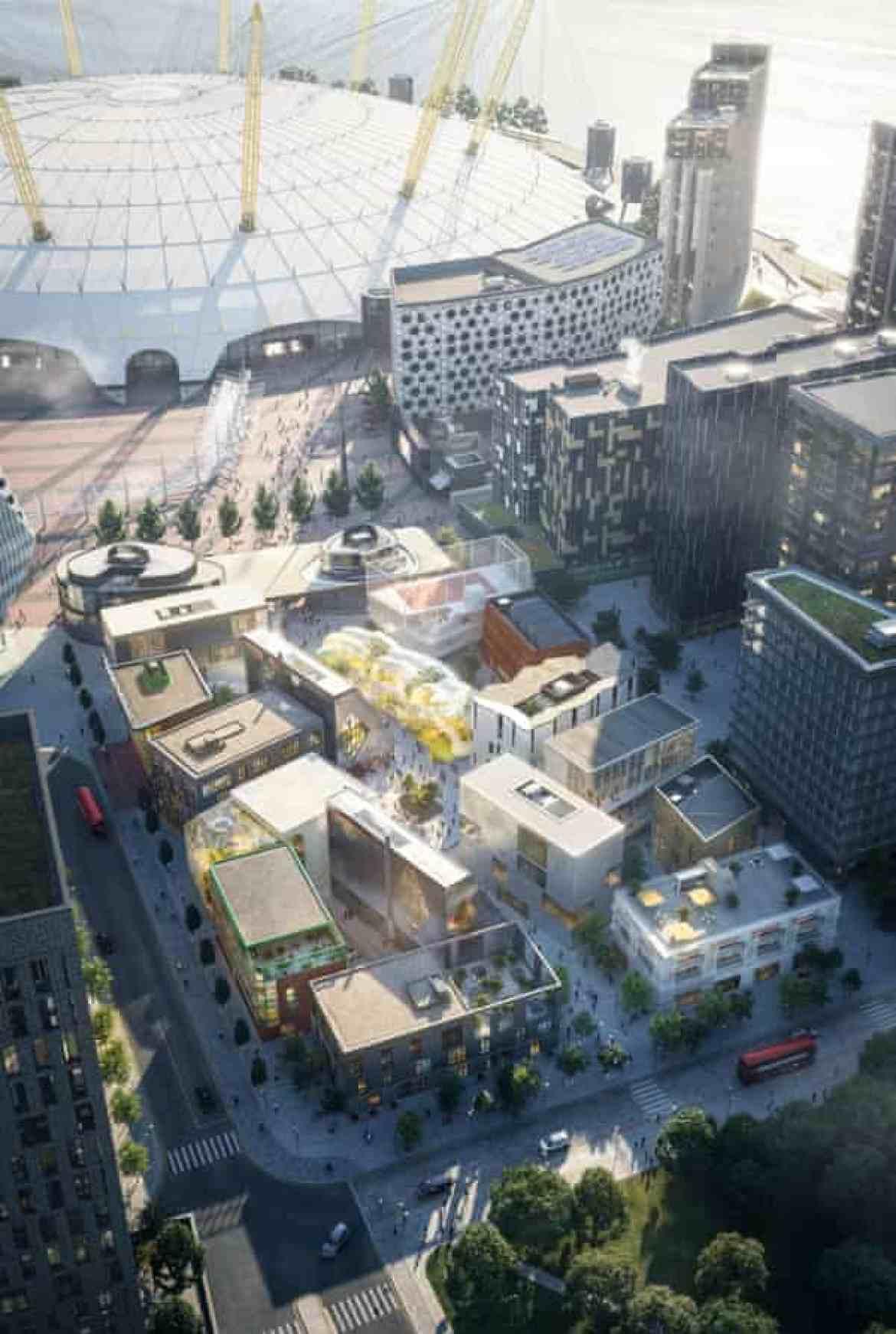 Souk … a CGI impression of the Design District.