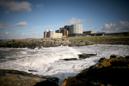 The Wylfa nuclear power station in Tregele, Anglesey (Getty)