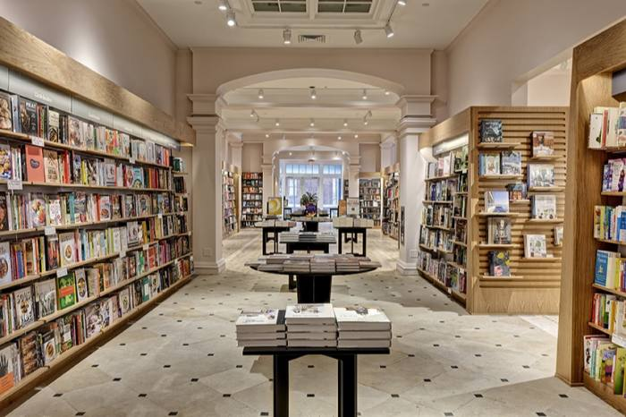 … and a much brighter, more spacious new Barnes & Noble story