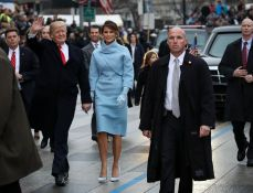 Image result for Melania Trump channels Jackie Kennedy but Conway grabs fashion headlines