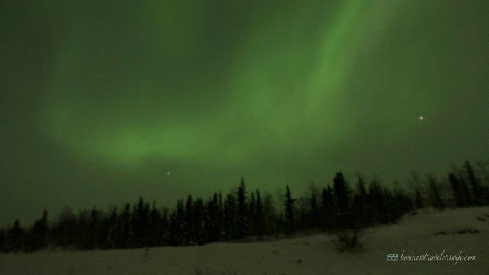 Seeing the Northern Lights - Yellowknife, Canada