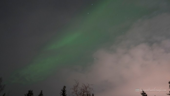 Northern Lights or Aurora Borealis in Yellowknife Canada