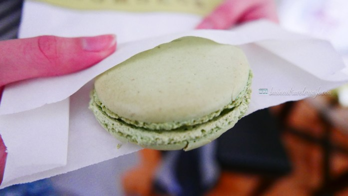 indulge like a food in NYC - what to eat in New York Bouchon Bakery pistachio macaron