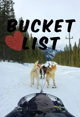 25 Items in my bucketlist