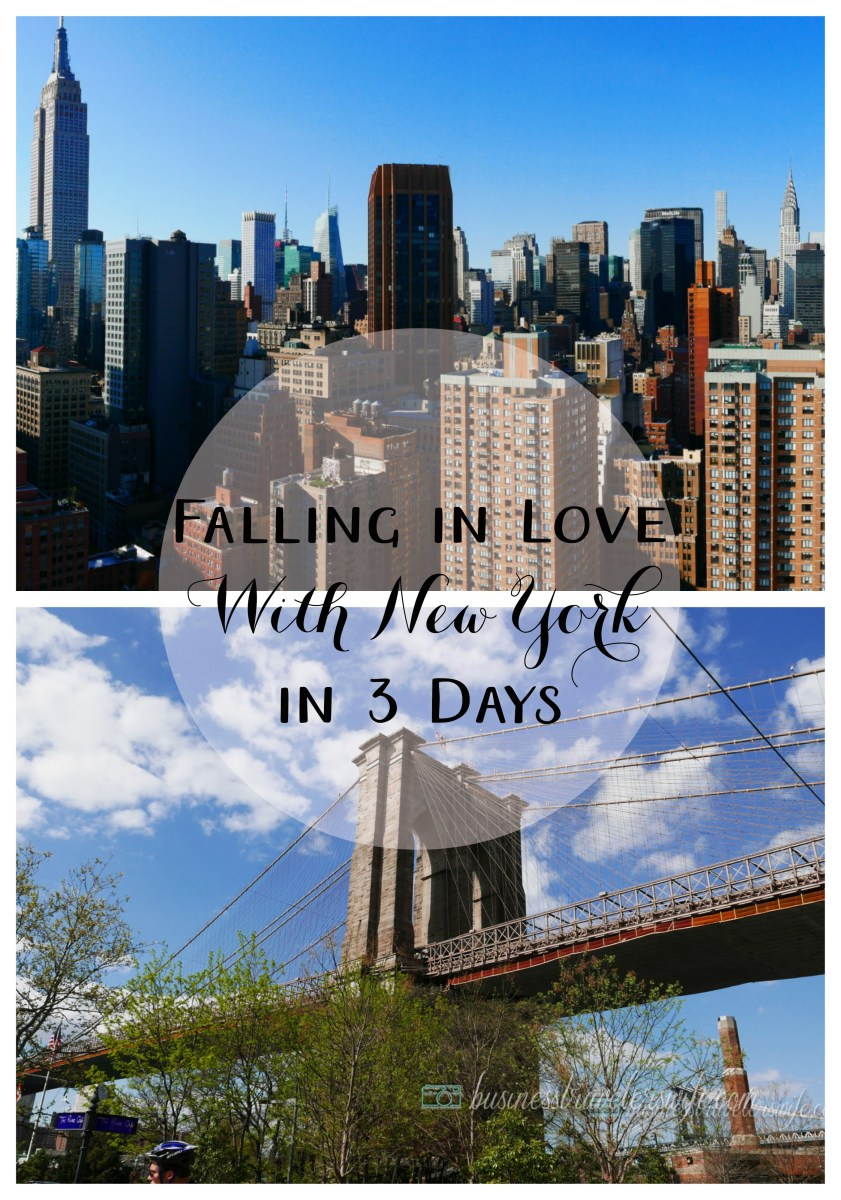 Falling in Love with New York in 3 Days