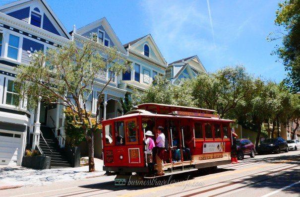 sights to see in san francisco powell-hyde cable car streetcar