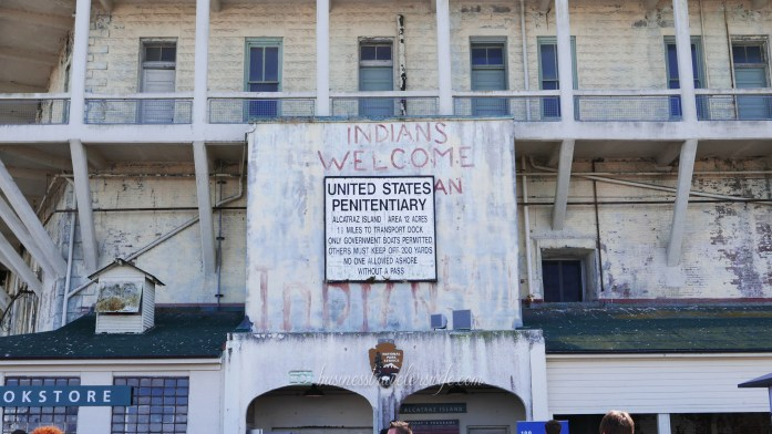 sights to see in san francisco bay alcatraz island American Indian Occupation