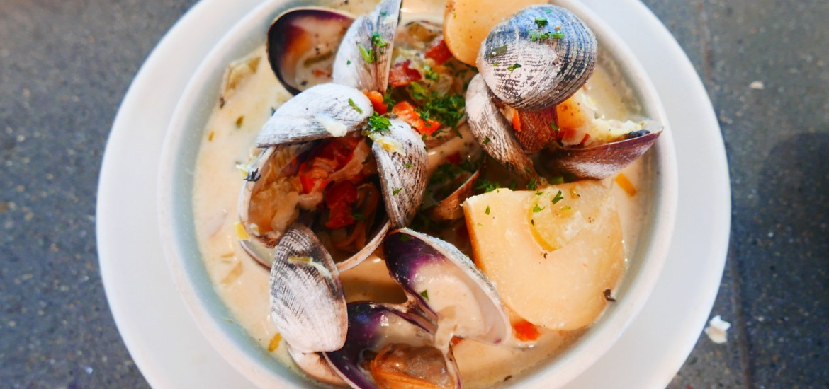 6 Amazing Places to Eat in San Francisco Hog Island Oyster Co Clam Chowder