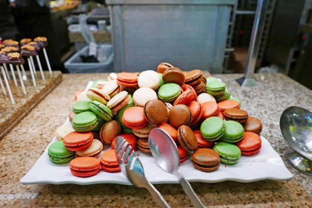Bacchanal Buffet is One of the Best Buffets in Las Vegas Caesars Palace Dessert Bar French Macarons