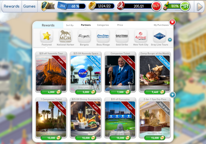 How to Redeem FREE Vegas Rewards with myVEGAS App Loyalty Points Rewards