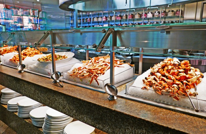 Bacchanal Buffet is One of the Best Buffets in Las Vegas Caesars Palace Seafood Station